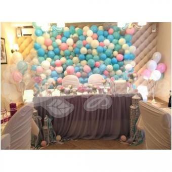Оформление шарами на свадьбу «Комплект № 23»