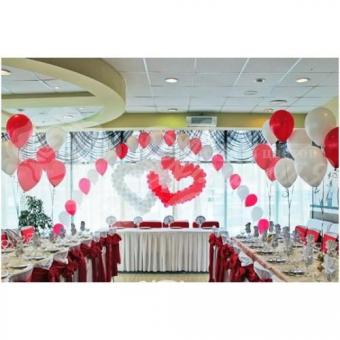 Оформление шарами на свадьбу «Комплект № 25»