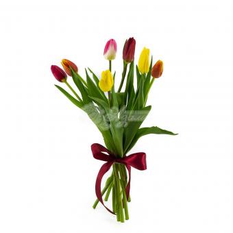 Букет из 7 Тюльпанов
