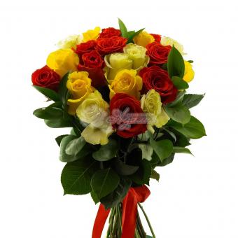 Букет из 21 Эквадорской розы